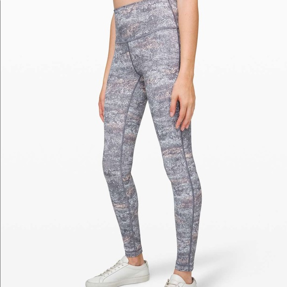 Lululemon Wunder Under in Grey multi